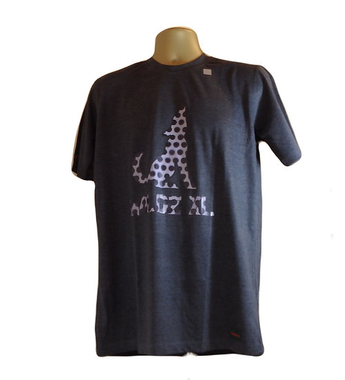 WILDZ XL Wolf T-shirt Grey