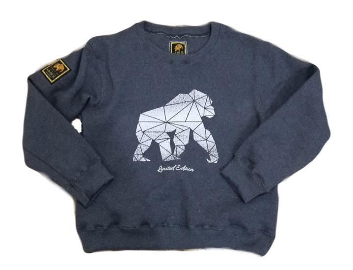 Gorilla Limited Edition Sweatshirt Grey