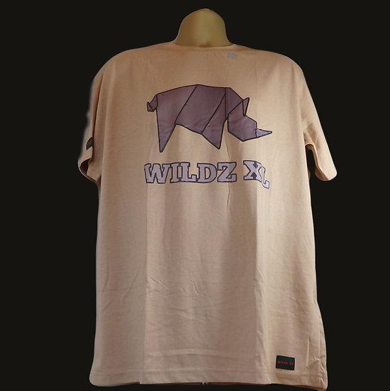 WILDZ XL Rhino T-shirt Beige
