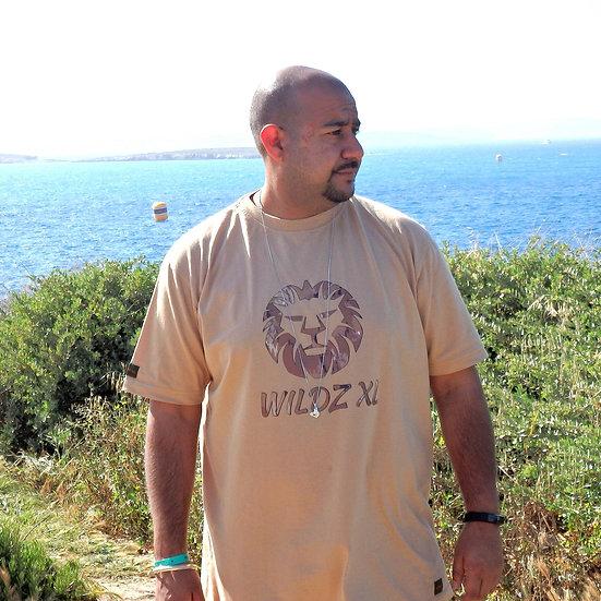 WILDZ XL Lion T-shirt Beige
