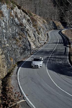 BMW mountain lake