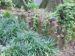 Retaining wall in Homewood