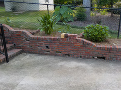 Hoover retaining wall