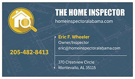 The Home Inspector - Eric Wheeler