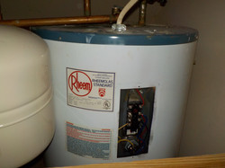 Water heater safety issue