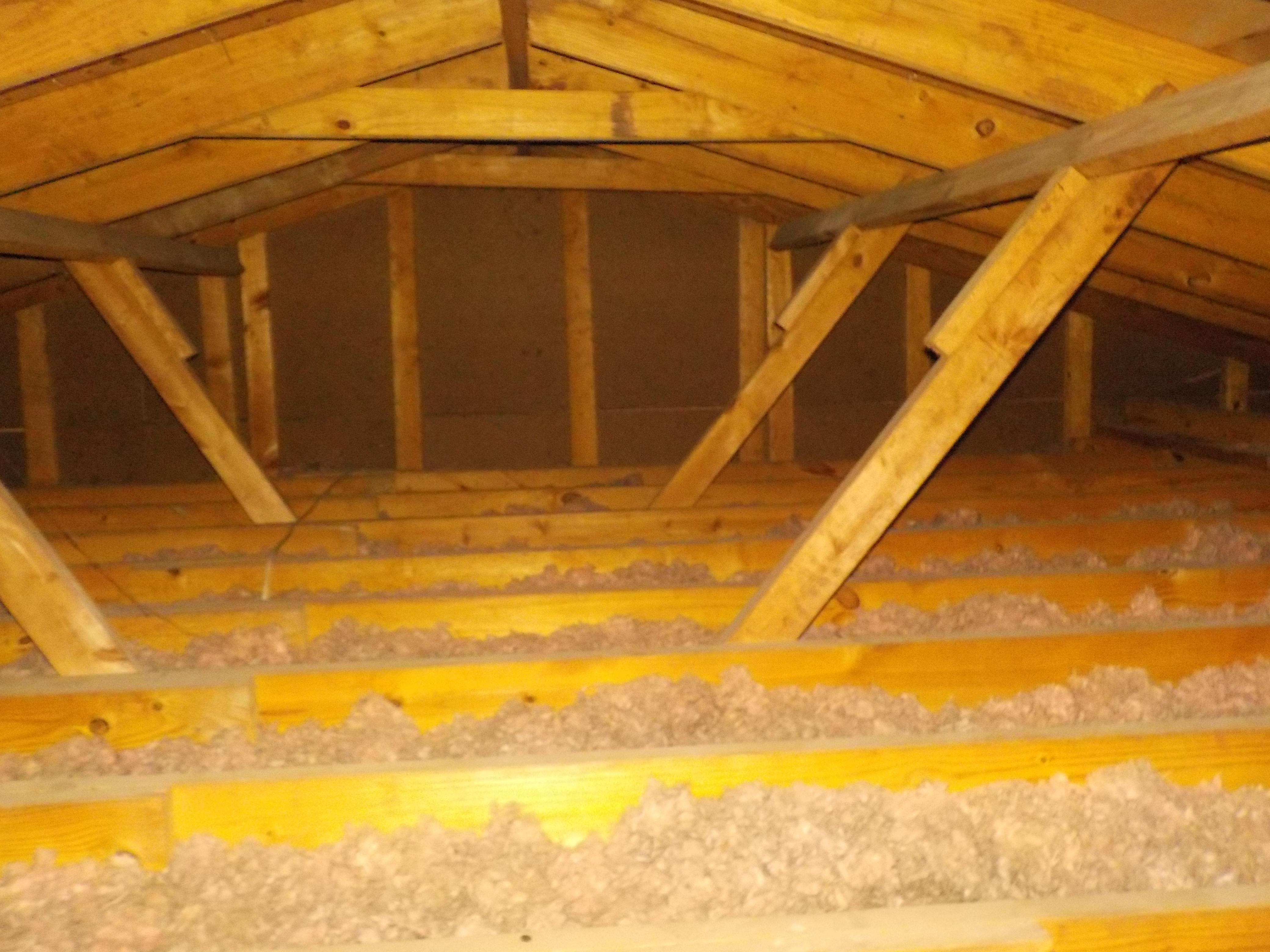 Irondale attic