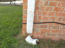Old Cahaba downspout