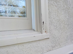 Greystone window frame inspection