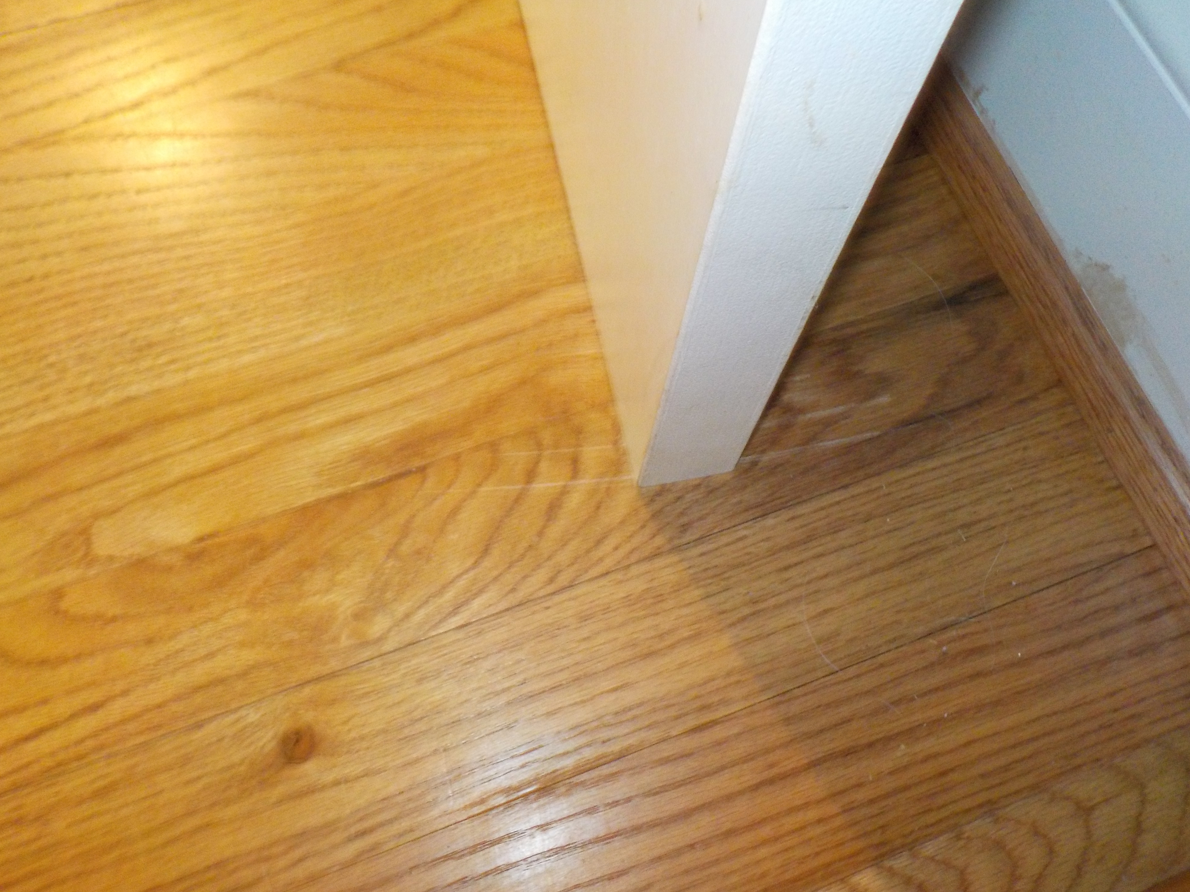 Door rubbing floor