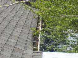 Hoover roof and gutter inspection