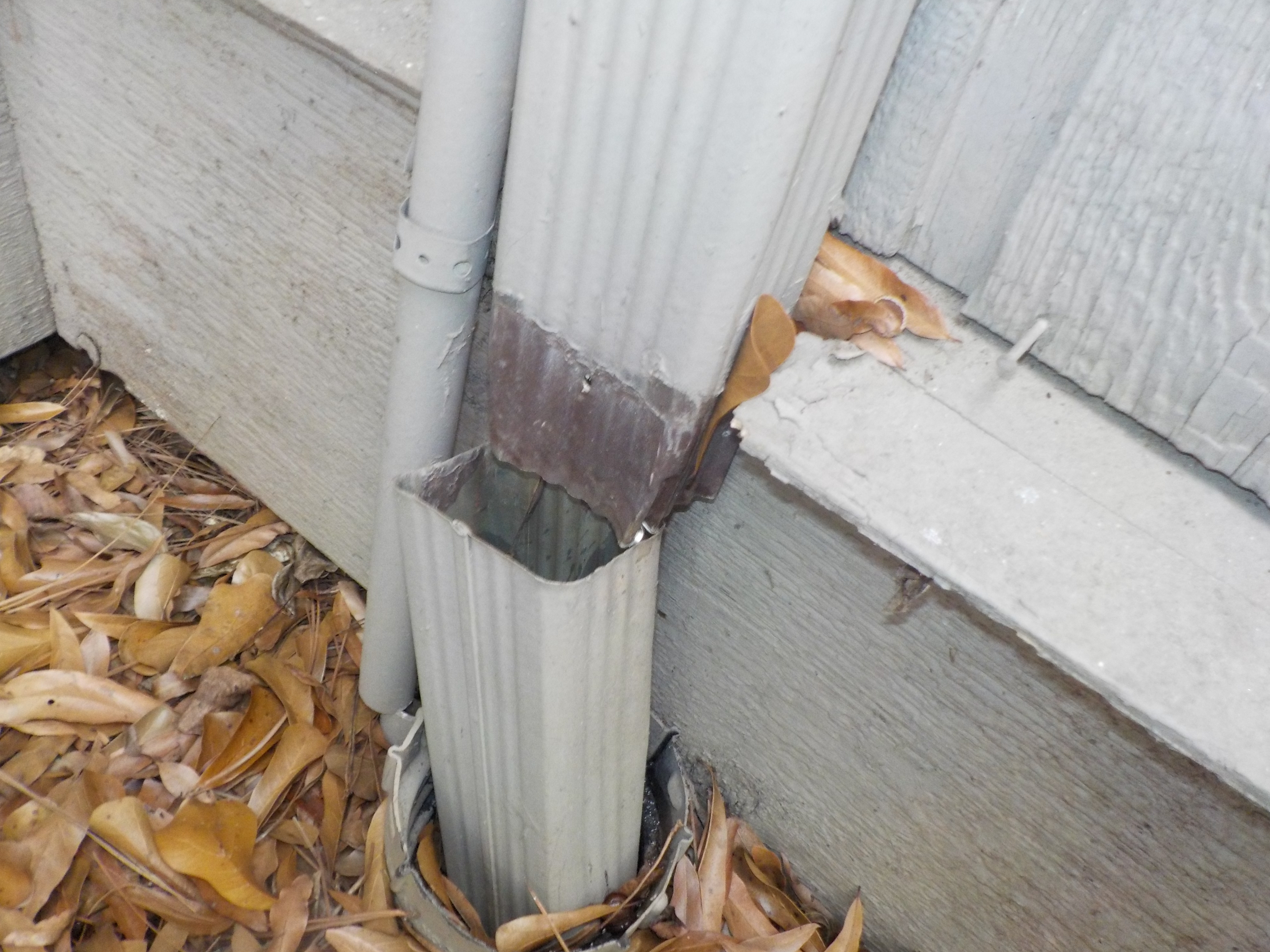 Downspout - Hoover Condo