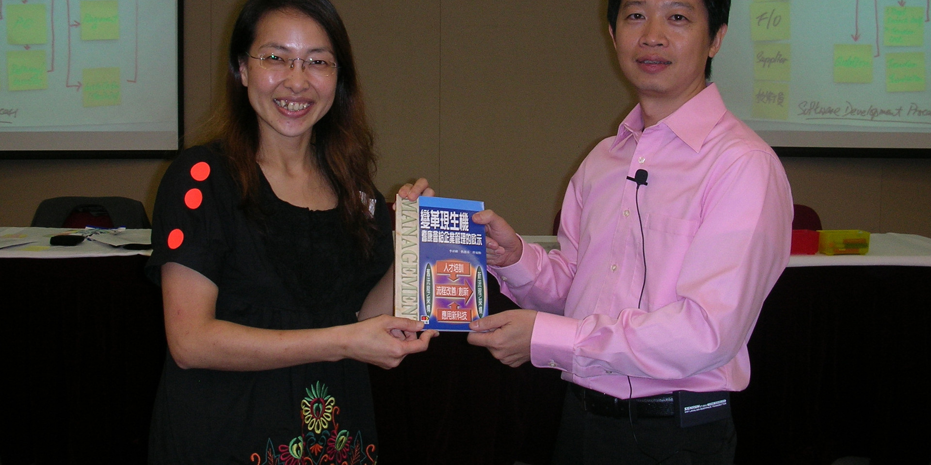 Conducting workshop for Hong Kong Baptist University