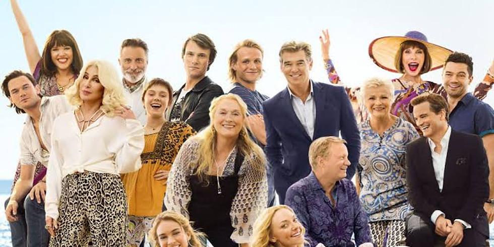 Mamma Mia-Here We Go Again-on Porthmellon Beach