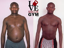 successful weight loss at siscoe gym with Joseph