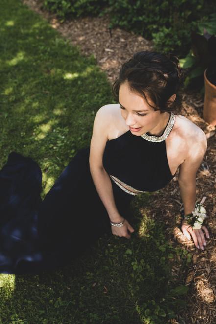 photo femme robe chic