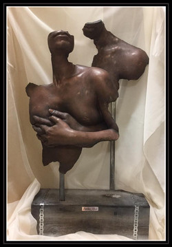 moulage corporel couple