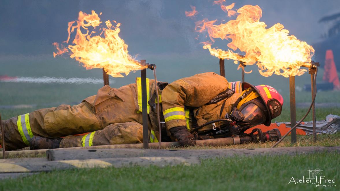 photo compétition pompier