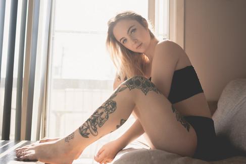 photo femme lumière naturelle