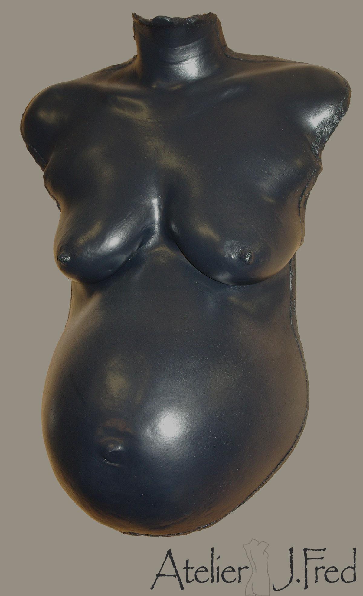 moulage ventre classique noir