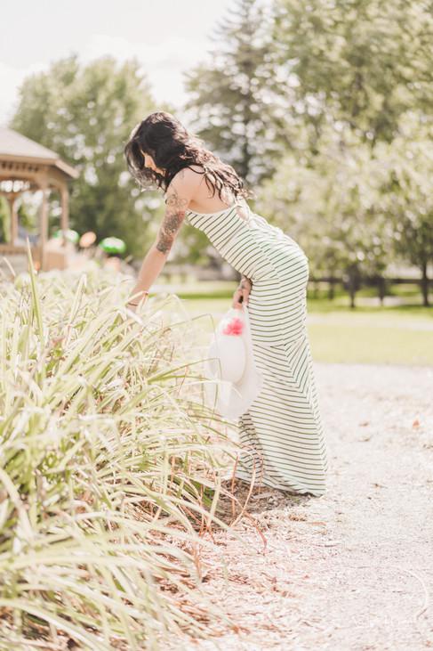 photo femme printemps