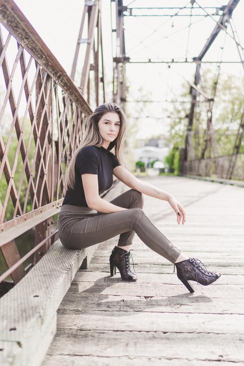 pont bois photographie