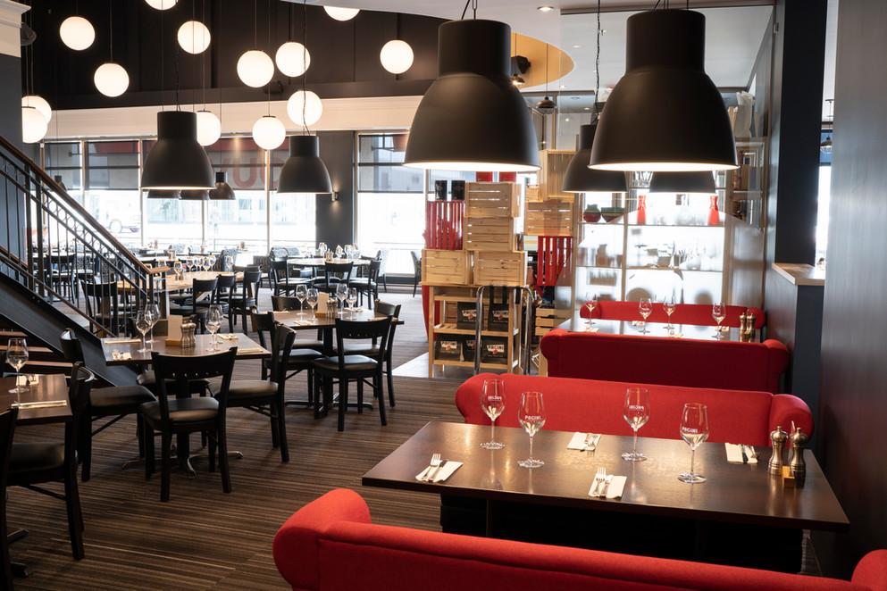 photographie restaurant Pacini