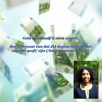 Geld opzichzelf is niets waard