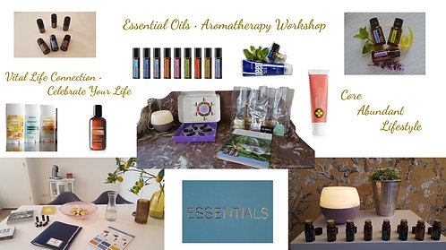 Essential Oils Aromatherapy Workshop
