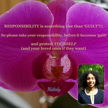 RESPONSIBILITY, something else than GUILT