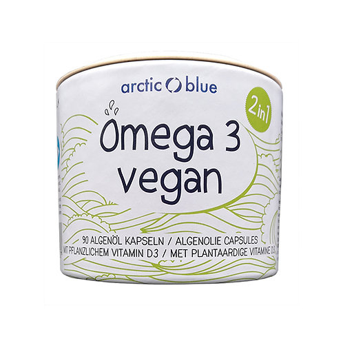 Algae oil with vitamin D3 Vegan