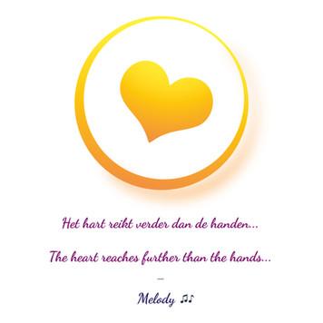 Het hart reikt verder dan de handen