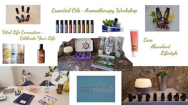 Header Essential Oils Aromatherapy Works