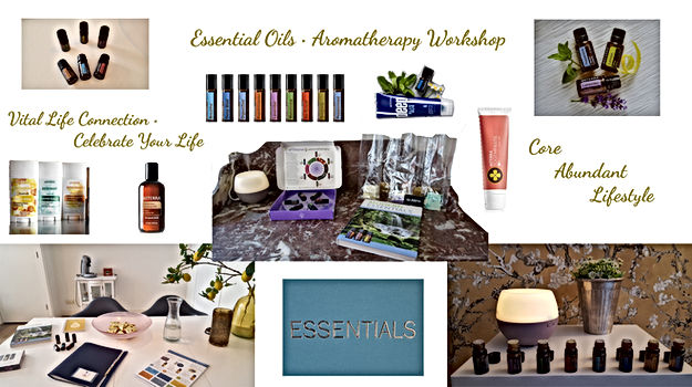 Header Essential Oils Aromatherapy Works