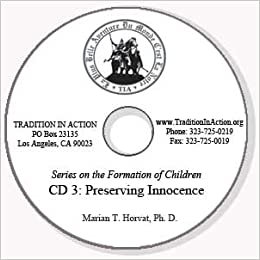 Preserving Innocence in Early Childhood (CD Three)