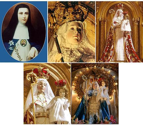 Conjunto 1: Imágenes de Nuestra Señora del Buen Suceso