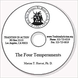 Catholic Psychology: The Four Temperaments