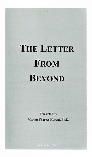 The Letter From Beyond