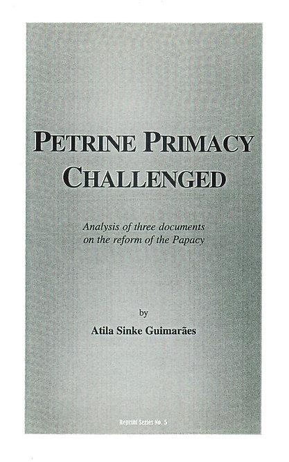 Petrine Primacy Challenged
