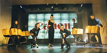 Canon Multimedia Trommelshow, Nubya