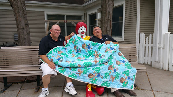 Masons_donating_blankets_to_children's