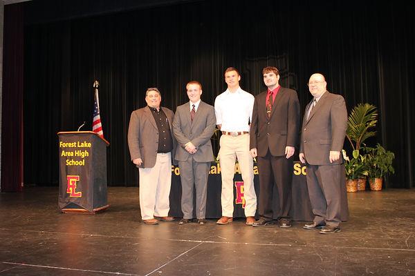 Masons give three scholarships each year