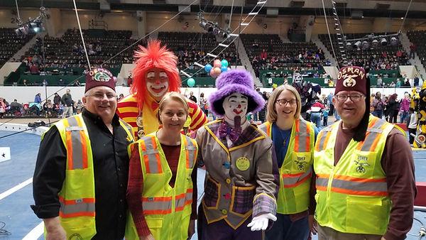 Masons working the Shrine circus.jpg