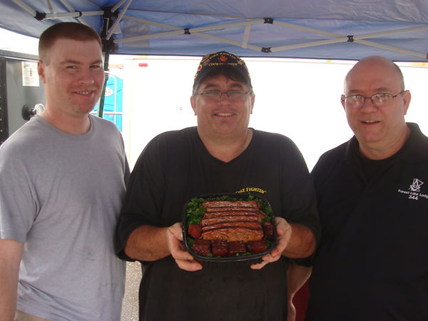 Masonic Brisket Contest first place in M
