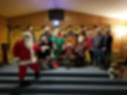 Masons providing a Free Santa Photo Shoo