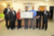 Masons Donate to Local Coats for Kids dr