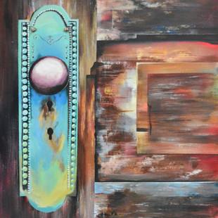 Wooden Door Painting