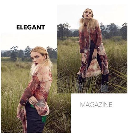 Divinity in Elegant Magazine