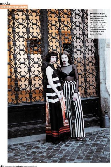 Divinity Editorial in Revista Estilo Magazine