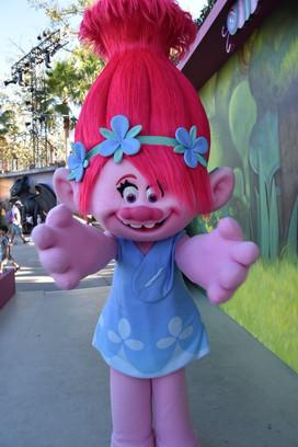 Universal Studio Hollywd Poppy/Trolls