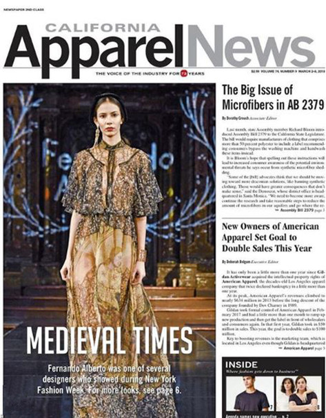 Apparel News Cover Divinity